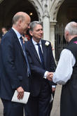 Chris Grayling, Philip Hammond and Justin Welby