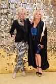 Jennifer Saunder and Joanna Lumley