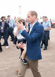 Prince George, Prince William and The Duke Of Cambridge