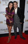 Angie Harmon and Jordan Bridges
