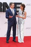 Matt Damon and Alicia Vikander at Odeon Leicester Square