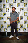 Russell Hornsby, Claire Coffee and Bitsie Tulloch at Comic Con