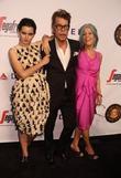 David Johansen, Mara Hennessey and Martin Scorsese