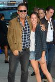 Bruce Springsteen and Jessica Springsteen
