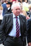 Jimmy Tarbuck and Claudia Winkleman