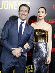 Jon Hamm and Gal Godot