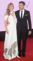 Jeremy Renner and Amy Adams at London Film Festival