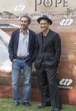 Paolo Sorrentino and Jude Law