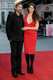 Sharlto Copley and Tanit Phoenix at Leicester Square, London Film Festival and Odeon Leicester Square
