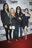 Nick Simmons, Shannon Tweed, Gene Simmons and Sophie Simmons