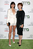 Francesca Eastwood and Frances Fisher