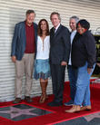 Stephen Fry, Diane Farr, Hugh Laurie, David Shore and Jean Mcclain Aka Pepper Mashay