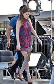 Anna Kendrick at Universal Studios Hollywood