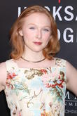 Molly Quinn and Guest at Samuel Goldwyn Theater