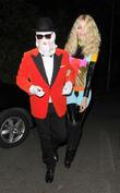 Claudia Schiffer and Matthew Vaughn