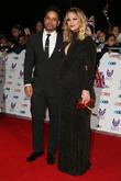 Kimberley Walsh and Justin Scott