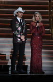 Brad Paisley and Carrie Underwood at Bridgestone Arena and Cma Awards