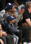 Lil Wayne and Son