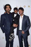 Dev Patel, Sunny Pawar and Saroo Brierley