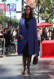 Tasha Smith and Gabourey Sidibe at The Hollywood Walk Of Fame and Walk Of Fame