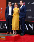 Damien Chazelle, Emma Stone and Ryan Gosling