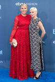 Busy Philipps and Michelle Williams at Barker Hangar and Critics\' Choice Awards