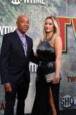Russell Simmons and Amy Shiels