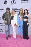 Tish Cyrus, Brandi Cyrus, Billy Ray Cyrus and Noah Cyrus