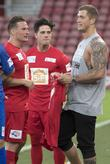 Lee Ryan and Dan Osborne