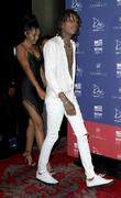 Wiz Khalifa and Izabela Guedes at Drai\'s Nightclub