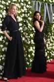Uma Thurman and Tina Fey
