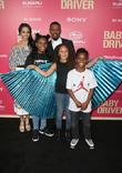 Jaime Foxx, Corinne Foxx and Annalise Bishop