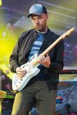 Coldplay and Jonny Buckland