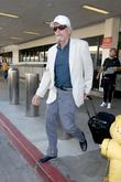 Michael Douglas at Los Angeles International Airport