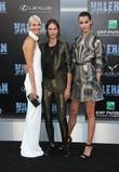 Sasha Luss, Aymeline Valade and Pauline Hoarau
