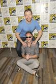 Robert Buckley and David Anders