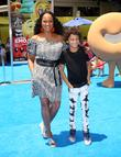 Garcelle Beauvais and Jaid Thomas Nilon