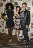 Jade Eshete, Hannah Marks and Samuel Barnett