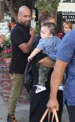 Janet Jackson, Eissa Al Mana and Preston Meneses