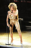 Tina Turner performing in concert at the O2...