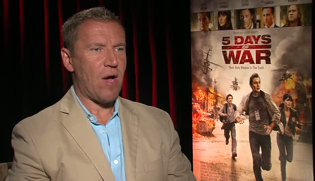 Renny Harlin Interviewed about his new film '5 Days of War'