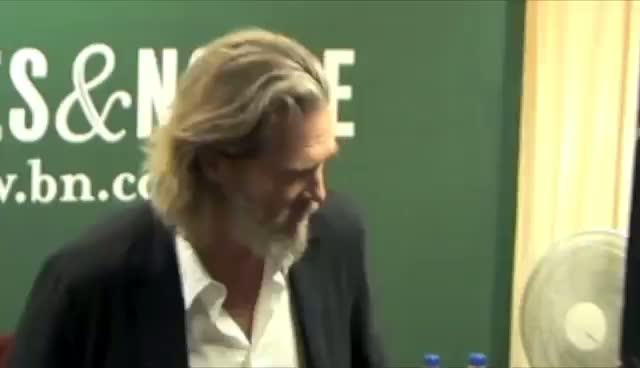 Jeff Bridges Attends Press Call For His Debut Album 'Jeff Bridges'