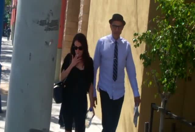 Jeff Goldblum Visits Great Earth Vitamins In Los Angel