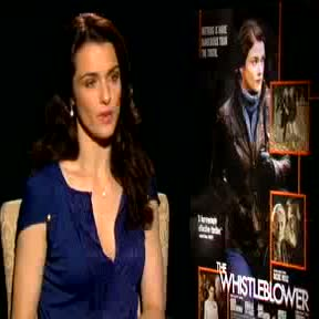 Rachel Weisz hung out with female cops in New York