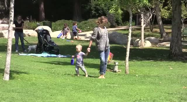 Pregnant Rebecca Gayheart hits Los Angeles park with daughter