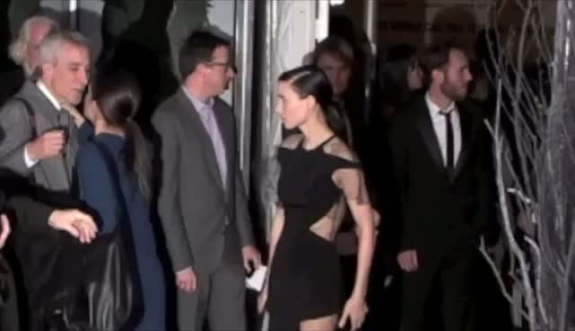 Rooney Mara's New Dramatic Image - The Girl With The Dragon Tattoo New York Premiere Arrivals Part 2