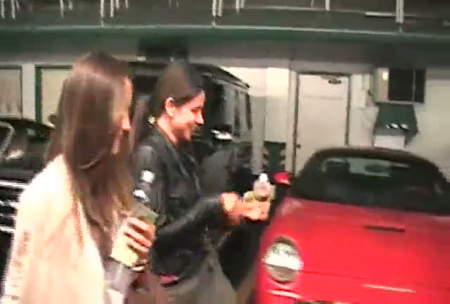 Minka Kelly And Friend Leave Nail Salon In LA