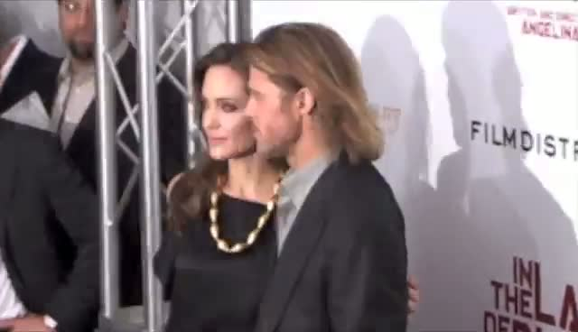 Angelina Invites In Laws To Directorial Debut - In The Land Of Blood And Honey Arrivals Part 1