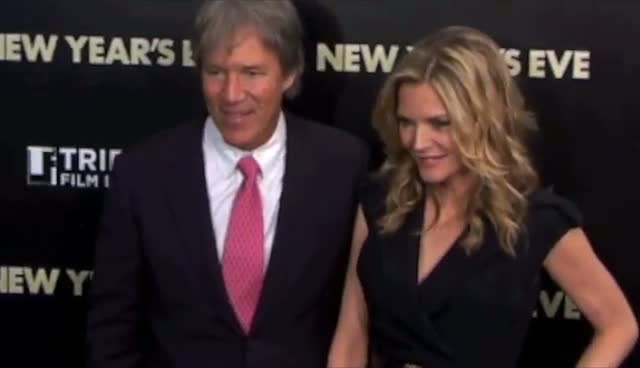 Michelle Pfeiffer and Sarah Jessica Parker Bring Husbands Along To Premiere - New Year's Eve New York Premiere Arrivals Part 2
