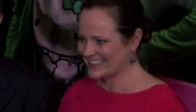 Patrick Wilson Kisses Wife At Premiere - Young Adult Premiere Arrivals Part 2